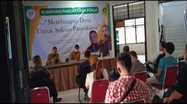 Giat Ngariung Pancakarsa Pokja, Dua Nara Sumber Paparkan Keberhasilan Program Pancakarsa Ditingkat Desa