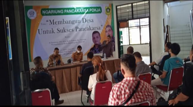 Bupati Bogor Ade Yasin Terima Laporan Oknum Wartawan Peras Kades, Acara Ngariung Pancakarsa Pokja Kades Tampil Sebagai Nara Sumber