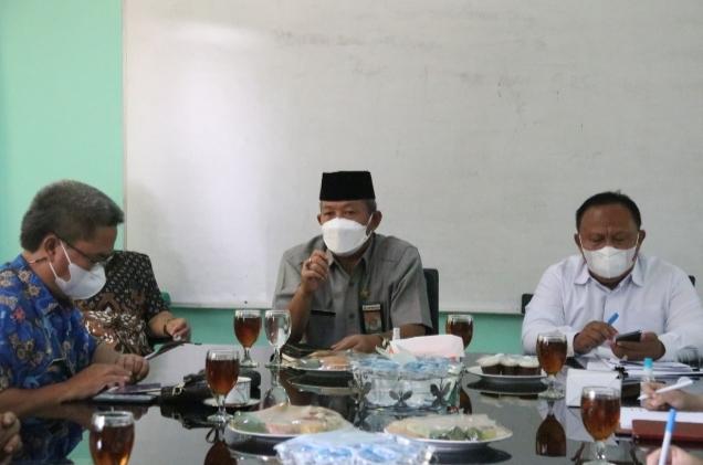 Sekda Kabupaten Bogor, Minta Disdik dan Jajarannya Mengkaji Rencana Sekolah Tatap Muka